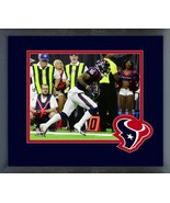 Keke Coutee Touchdown 2018 AFC Wild Card Game-11x14 Team Logo Matted/Fra... - $43.55