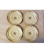 International Tableworks Heartland Village Saucers Set 4 China Stoneware - $36.40