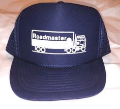 Rare Semi Roadmaster Trucker Hat Nissun Cap Truck Dark Blue Snapback Adjustable - $57.95