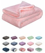 Fuzzy Blanket or Fluffy Blanket for Baby Girl or boy, Soft Warm Cozy Cor... - £14.03 GBP