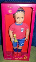 """Our Generation DINA Olympic Soccer Player 18"""" Girl Doll New - $39.88"""