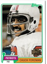 2001 Topps Archives Chuck Foreman Football Trading Card #112 New England Patriot - $3.95