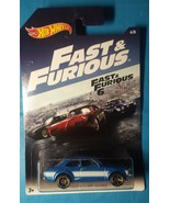 NEW Hot Wheels 2017 Fast and Furious '70 Ford Escort RS1600 1:64 #6/8 - $1.97