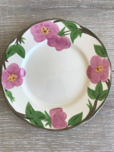 "Franciscan Desert Rose Pattern Salad Plates 8"" New Backstamp Lot 7 Replacement"