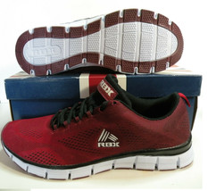 RBX BRADLEY LOW TRAINERS SPORT SNEAKERS MEN SHOES BURGUNDY SIZE 11 NEW - $54.44