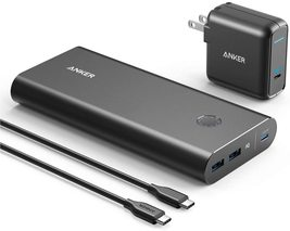 Anker PowerCore+ 26800mAh PD 45W with 60W PD Charger Power Delivery Portable Cha - $109.98