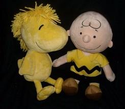 Woodstock & charlie brown snoopy stuffed animal kohl's cares for kids - $24.88