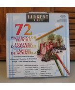 Sargent Art Watercolor Pencils 72 Ct Non Toxic Painting Drawing Artists - $19.79