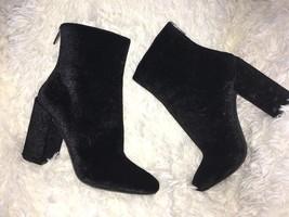 Jessica Simpson Aninada Velvet Embossed Ankle Boot SZ 8.5 NEW - $62.57