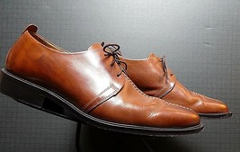 Men's Cole Hann Burnished Chestnut leather Split Foot Oxford Sz. 10D MINT! - $53.96