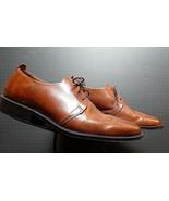 Men's Cole Hann Burnished Chestnut leather Split Foot Oxford Sz. 10D MINT! - $53.96