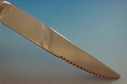 """Fairfax by Durgin-Gorham Sterling Silver Steak Knife 8 1/2"""" HHWS  Custom Made"""