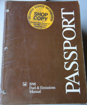 1998 Honda Passport Service Manual Repair Shop Workshop Factory Fuel & E... - $3.78