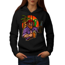 Pirate With Beer Sweatshirt Hoody Sailor Women Hoodie - $21.99+