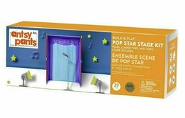 NEW Antsy Pants Build and Play POP Star Stage Kit Kids Playset SEALED image 1