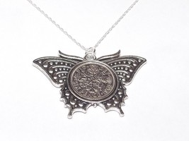 Anniversary sixpence coin pendant plus 20inch SS chain gift 1960 59th Birthday