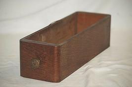 Vintage Antique Ornate Wooden Oak Singer Treadle Sewing Machine Cabinet Drawer a - $39.59