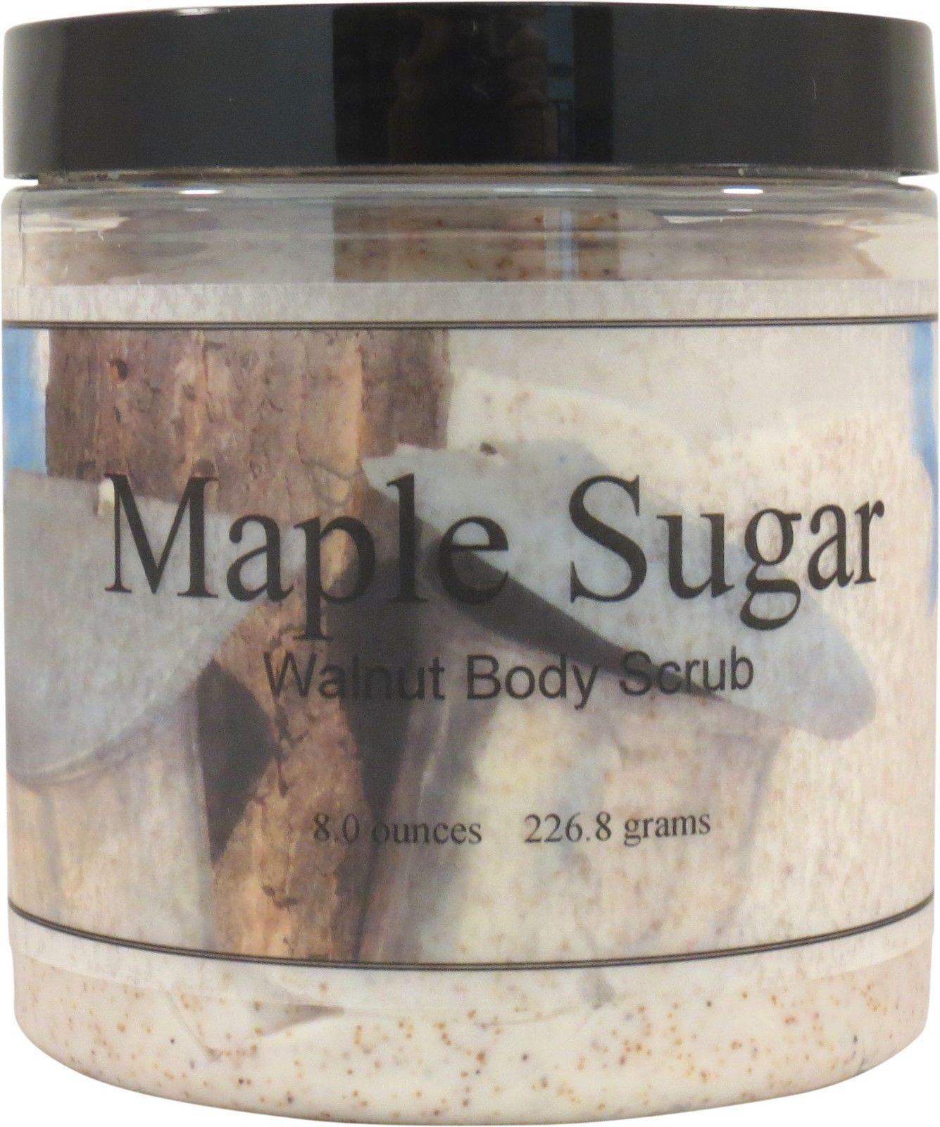 Maple Sugar Walnut Body Scrub