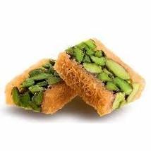 Pistachio Balourieh Baklava Baklawa Nuts Red 500 Gram Gourmet Desserts 4... - $34.67