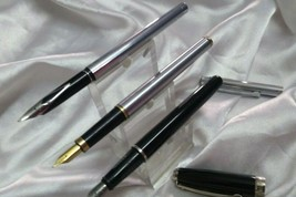 3 pc sheaffer fountain pen vintage with cartridge - $147.51