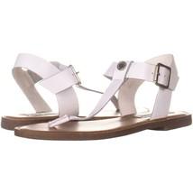 Steve Madden Skylaar Heeled Gladiator Sandals 885, White Leather, 6.5 US - $29.75