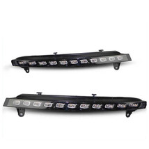 2PCS For Audi Q7 2006-2009 LED Car DRL Daytime Running Lights with turn ... - $194.09