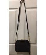Steve Madden handbag BMarilyn Black Cross body Soft ribbed faux leather ... - $43.00
