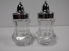Vintage Fostoria Salt & Pepper Shakers Set - $16.95
