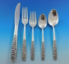 Contessina by Towle Sterling Silver Floral Flatware Set For 8 Service 45 Pieces - $2,950.00