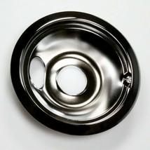WB31T10010 GE 6 In Burner Drip Bowl Chrome OEM WB31T10010 - $14.80