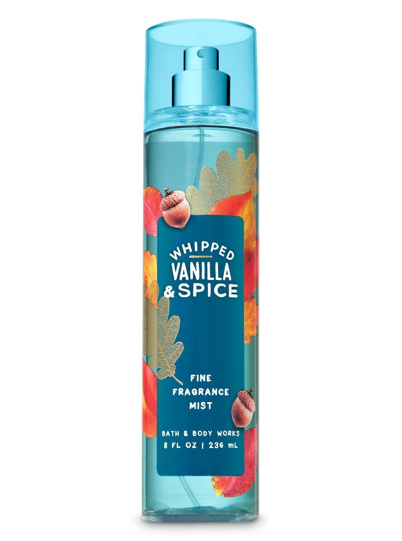 4 Piece Bath & Body Works Whipped Vanilla & Spice Body Lotion & Fragrance Mist image 2