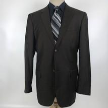 Perry Ellis Men's Size 44R Brown Blazer Sport Coat Jacket - $40.00