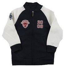 American Hawk Toddler Boy's Full Zip Fleece Varsity Jacket (4T)