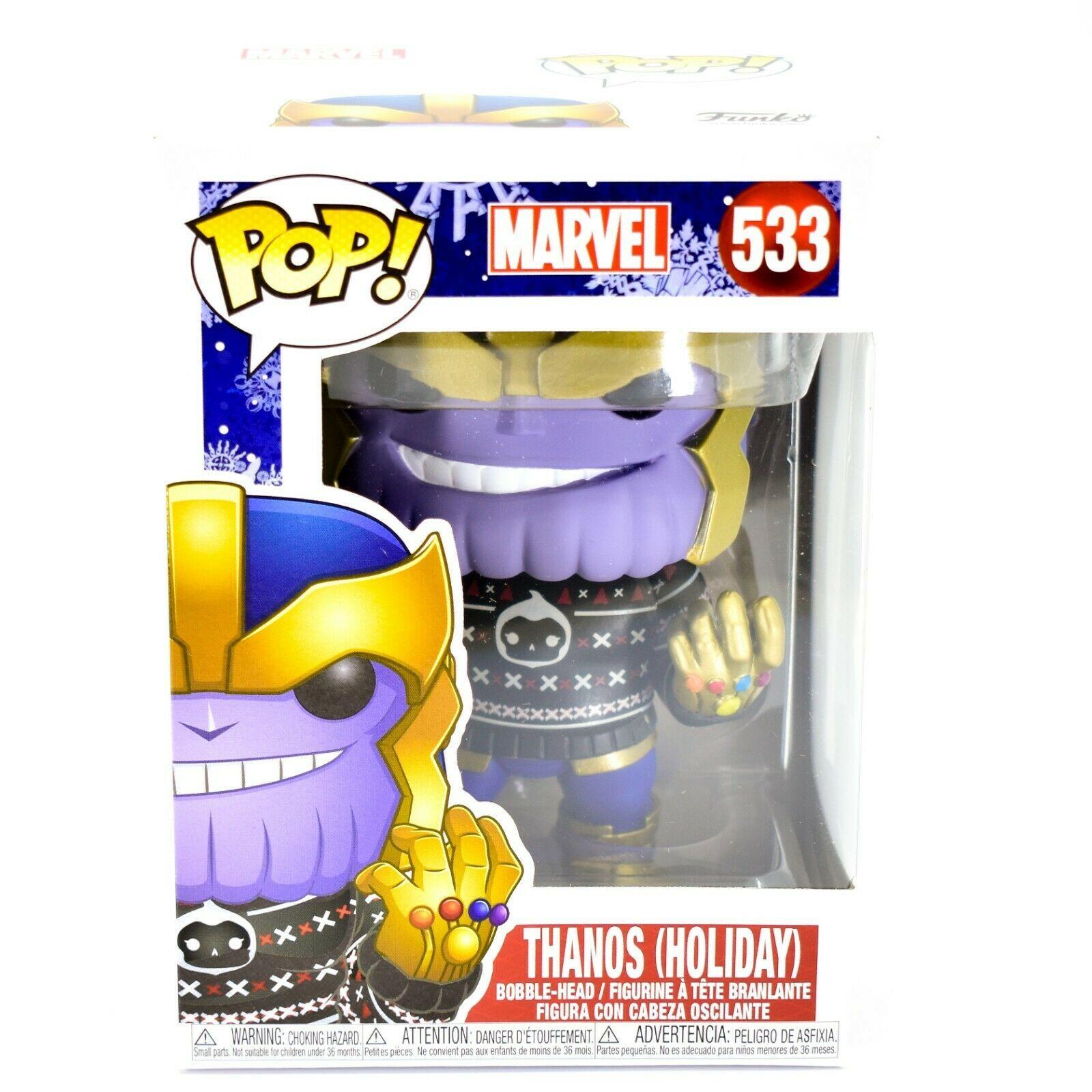 Funko Pop! Marvel Christmas Holiday Thanos #533 Vinyl Bobble-Head