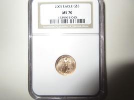 2005 , Eagle G5$  , MS 70 , NGC - $371.25