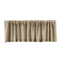BURLAP NATURAL Valance - 16x72 - Country Farmhouse Style - VHC Brands