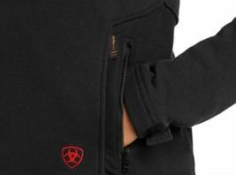 Ariat 10018157 Women Black Flame Resistant Polartec Platform Long Sleeves Jacket image 2