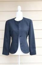 Giorgio Armani 100% Wool  Grey Jacket Sz 6 ARMANI VINTAGE 80s - $45.53