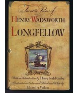 VINTAGE 1947 Favorite Poems of Henry Wadsworth Longfellow Hardcover Book - $39.59