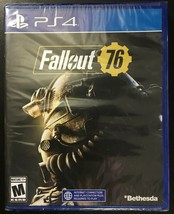 Fallout 76 for Sony PlayStation 4 PS4 Video Game BRAND NEW SEALED PACKAGE!!