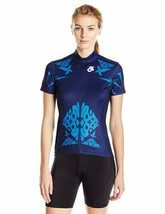 Medium Champion System Women's Cleo Bella Cycling Jersey 3/4 Concealed Zip NEW