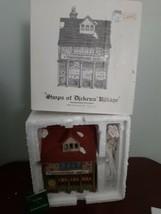Dept 56 Shops of Dickens Village Crowntree Inn House Lighted Porcelain C... - $39.55