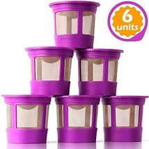 GoodCups 6 Reusable K Cups for Keurig K-Classic, K-Elite, K-Select, K-Ca... - €19,35 EUR