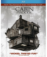 The Cabin in the Woods (Blu-ray Disc, 2012) with lenticular slipcover - $11.95