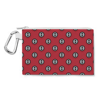 Black Widow Logo Avengers Superhero Inspired Canvas Zip Pouch - $15.99+