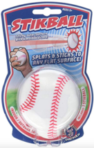 Hogwild White Stikball Baseball With Sticky Outer Surface With A Moldabl... - $6.57