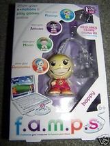 F.A.M.P.S Famps Happy Doll Charm PC Game Emotions Mood New - $9.00