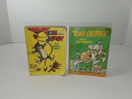 TOM And JERRY Soft Cover BIG LITTLE BOOK WHITMAN PUBLISHING 1967 1969 lo... - $15.00