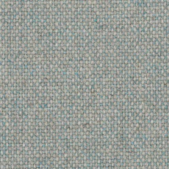 Camira Upholstery Fabric Main Line Flax Newbury Cream Blue Wool MLF10 6 yds L