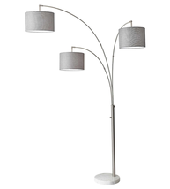 Adesso 4250-22 Floor Lamps Brushed Steel Bowery - $250.00